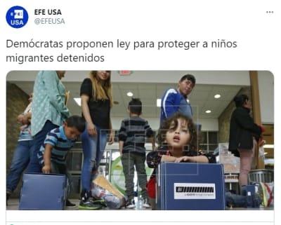 Ley proteger niños migrantes detenidos
