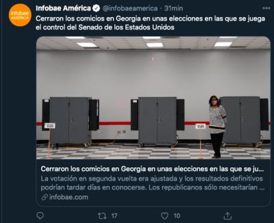 cierran urnas Georgia
