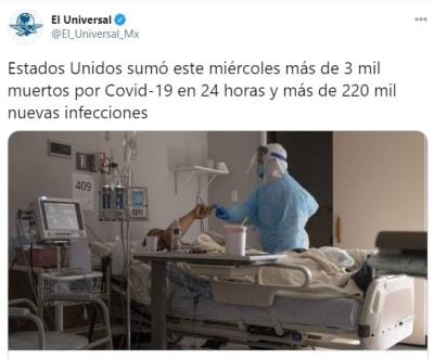 Muertes coronavirus por dia 1