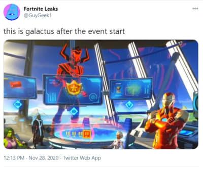 ¿Qué podemos esperar del evento Fortnite Galactus?