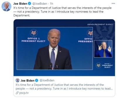 Biden Trump Terroristas, terroristas domésticos