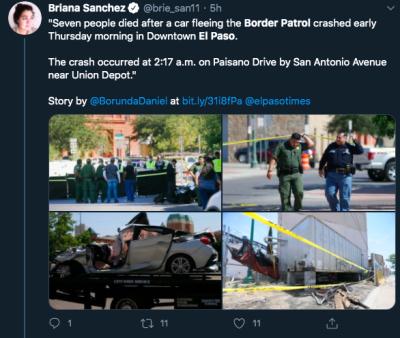 accidente Patrulla Fronteriza