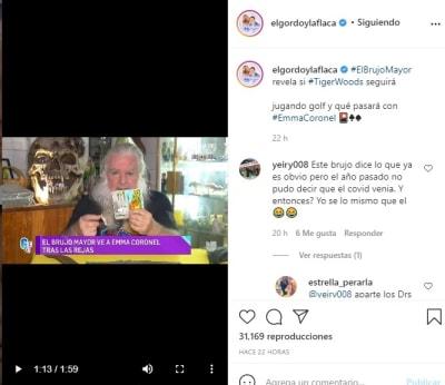 Brujo mayor esposa del Chapo Guzmán Emma Coronel