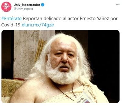 Ernesto Yañez coronavirus 1
