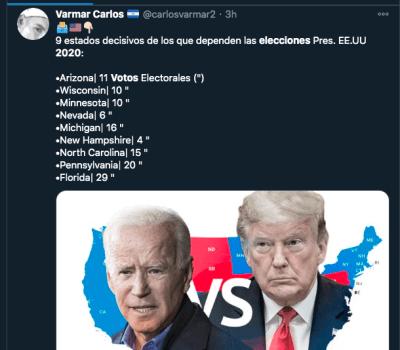 como declaran ganadores elecciones 2020