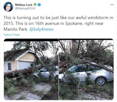 Tormenta de viento EEUU, Spokane,