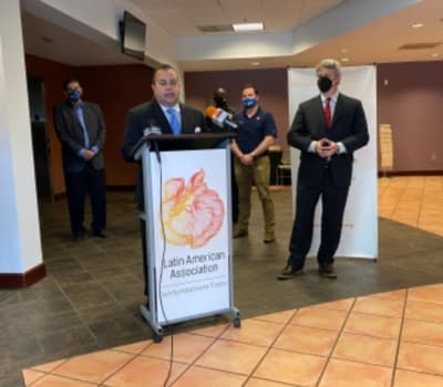 Asociación Latinoamericana inaugura despensa de alimentos para la comunidad