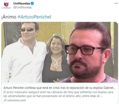 Arturo Peniche reconciliación esposa 1