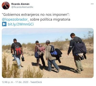 AMLO defiende política migratoria 3