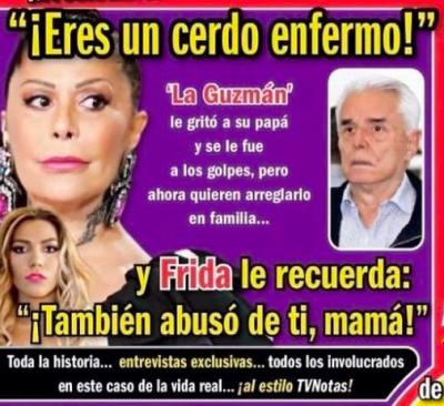 Portada de TvNotas con Enrique Guzmán (IG)