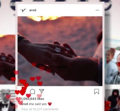 JLo y Álex Rodríguez compromiso cancelado (Instagram)