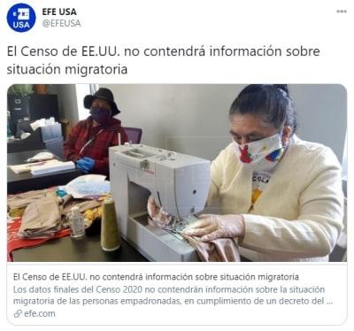Censo información migratoria personas empadronadas