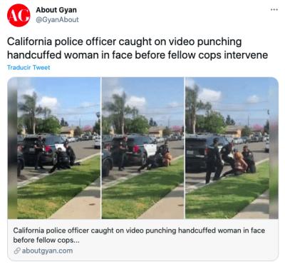 Policía investigado