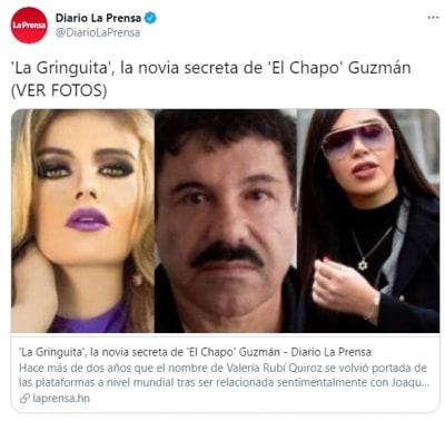 Chapo Guzmán novia secreta La Gringuita, Emma Coronel, esposa Chapo