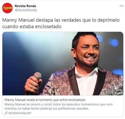 Manny Manuel orientación sexual 3