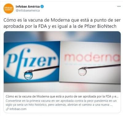 Vacunas Pfizer Moderna 2
