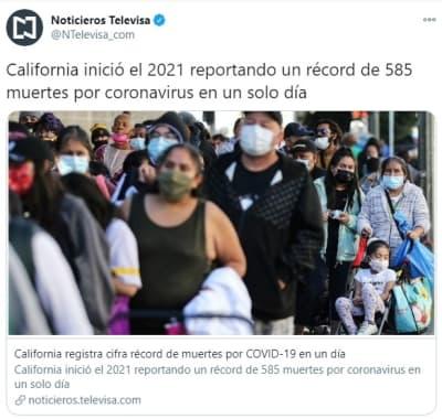 California muertes coronavirus 1