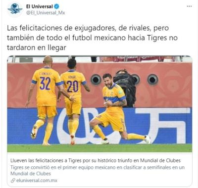 Tigres gran final Mundial de Clubes 2