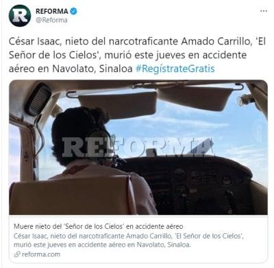 Muere nieto Amado Carrillo 3