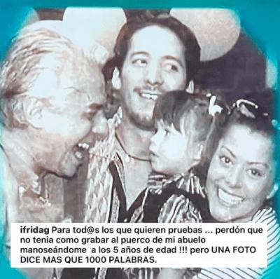 Enrique Guzmán responde a foto de Frida Sofía (IG)