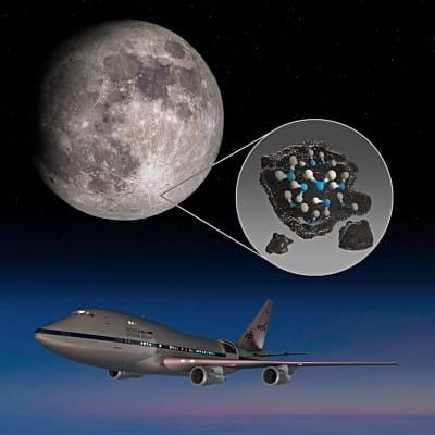 HISTÓRICO descubrimiento de NASA: Hay AGUA en la Luna