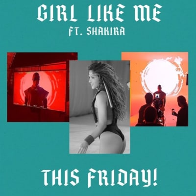 Shakira video musical 2 Black Eyed Peas