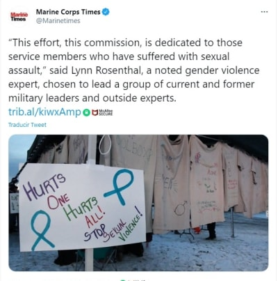 Pentágono Comisión agresiones sexuales militares 3