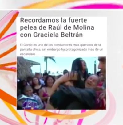 Graciela Beltrán estalla