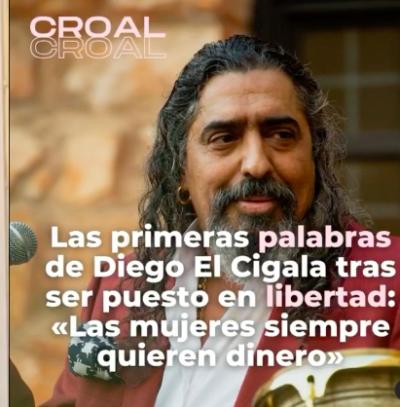 Diego El Cigala arresto violencia