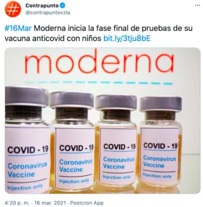 VACUNA COVID NIÑOS