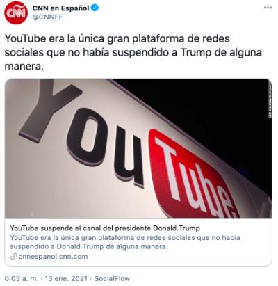 youtube trump