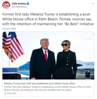 Melania Trump Be Best
