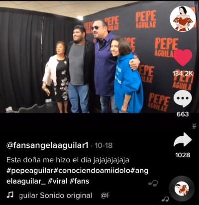 Ángela Aguilar Tik Tok