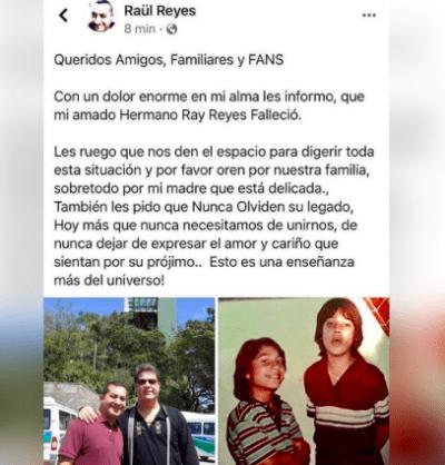 Ricky Meléndez se despidió