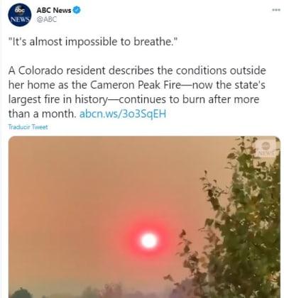 incendio en Colorado