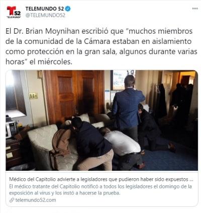 Legisladores Capitolio coronavirus 1