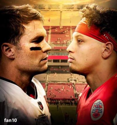 Brady Mahomes Super Bowl 2
