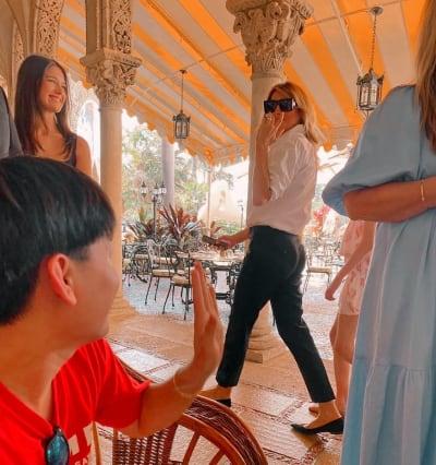 Melania feliz Casa Blanca, exprimera dama, esposa Trump