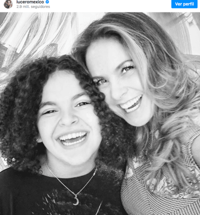 Lucero, hija Mijares (Instagram)