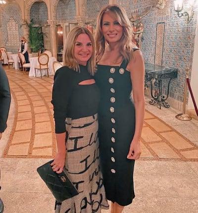Melania Trump reaparece sonriente, esposa de Trump, San Valentín Melania