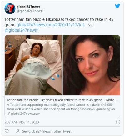 Engañó diciendo que tenía cáncer para recaudar miles de dólares por GoFundMe