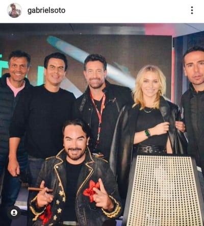 Gabriel Soto reaparece en redes sociales para dar mensaje de Año Nuevo