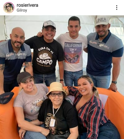 Rosie Rivera comparte foto inédita de la boda de Jenni Rivera y Esteban Loaiza