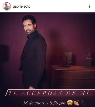 Sale a la luz la fecha en que la Gabriel Soto habría grabado su polémico video íntimo
