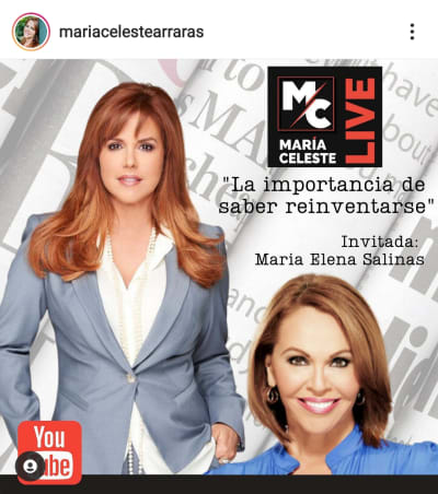 María Celeste anuncia el golpe más bajo a Telemundo y María Elena Salinas le ayudará en su venganza