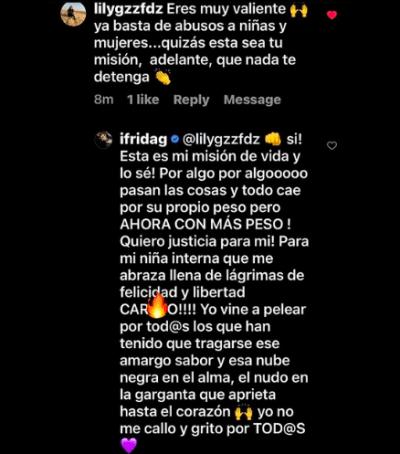 La hija de Alejandra Guzmán no se quedó callada (IG)