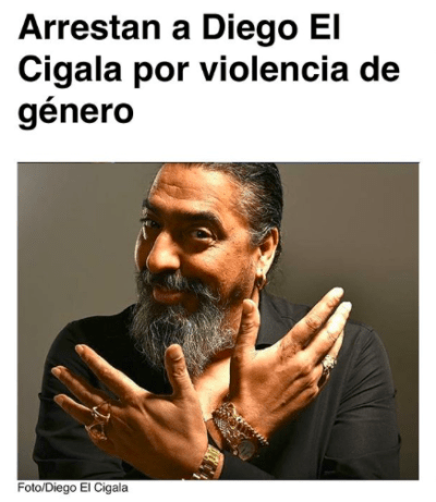 El cantante español en el ojo del huracán