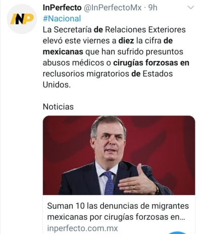 Denuncias migrantes cirugías forzosas