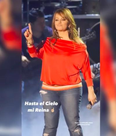 Mayeli Alonso le dedica recuerdo a Jenni Rivera (Instagram)