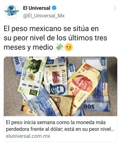 Peso mexicano 22 de febrero, así se vende el dólar hoy